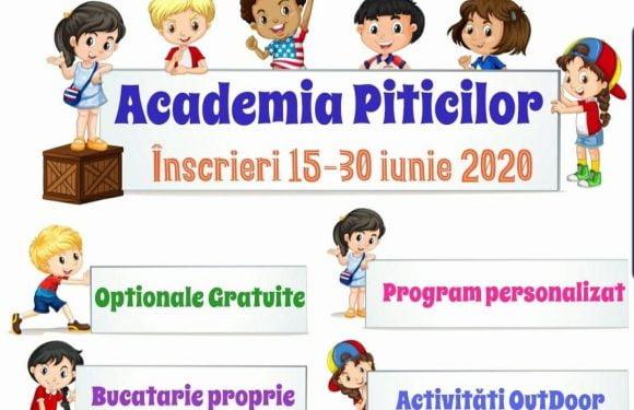 Înscrieri 15-30 iunie 2020